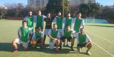 Fútbol 11 en Colegiales. Partido Amistoso