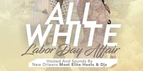 All White Labor Day Affair tickets