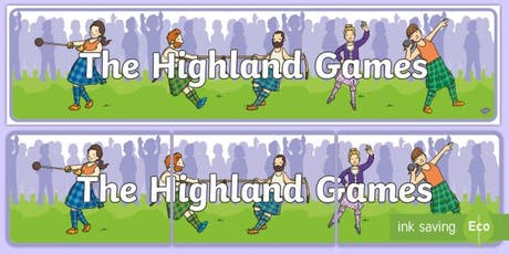 Highland Games - Springhall Pop Up Play tickets