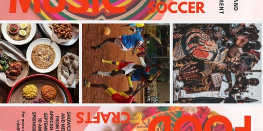 2019 ACFOLA Soccer Tournament and African-Themed Bazaar