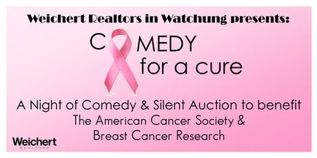 Weichert Watchung Presents: Comedy for a Cure tickets