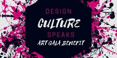 Design Culture Speaks Art Gala Benefit tickets