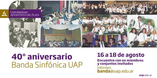 40 Aniversario - Banda UAP