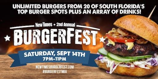 2019 Miami New Times' Burgerfest