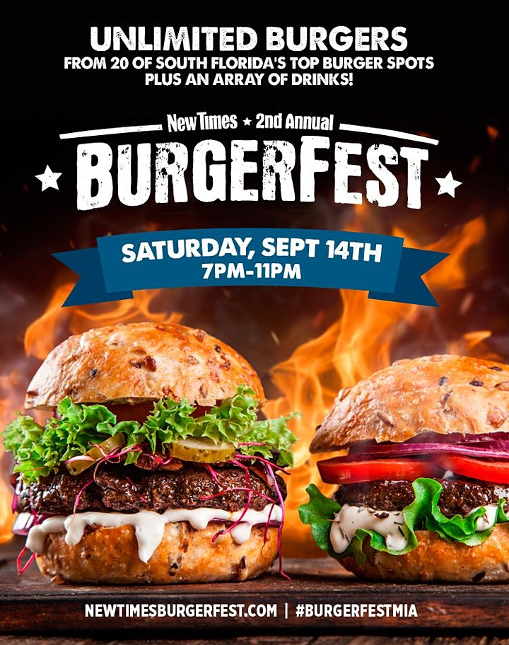 2019 Miami New Times' Burgerfest image