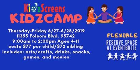 KidzCamp - 2 Day Camp  tickets