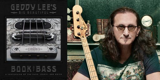 Geddy Lee - Book Signing 7/18