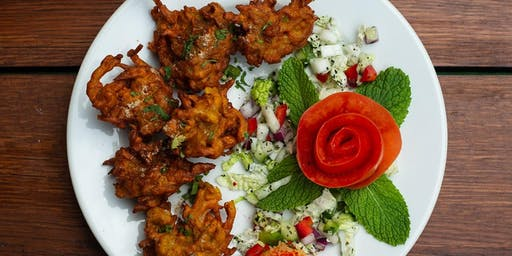 Lets learn to make Bhajia/ Pakora & Chutney