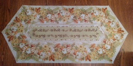 Easy Striped Table Runner with Courtenay tickets