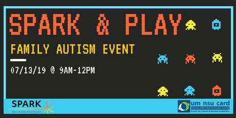 FREE SPARK & Play | Family Autism Event tickets