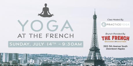 Brunch & Burn: Yoga at The French tickets