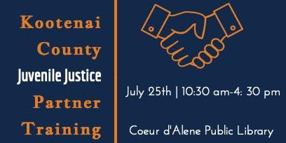 Kootenai County Juvenile Justice Partner Training