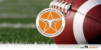 Dobie vs Sam Rayburn Varsity Football