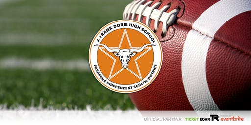 Dobie vs Sam Rayburn Varsity Football