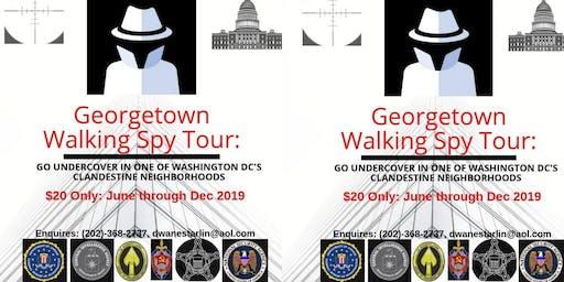 Georgetown Walking Spy Tour