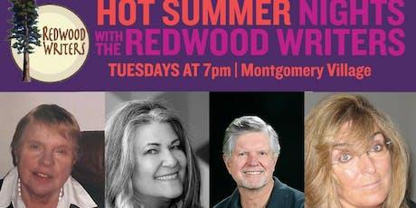 REDWOOD WRITERS: HOT SUMMER NIGHTS SERIES (7/16) tickets