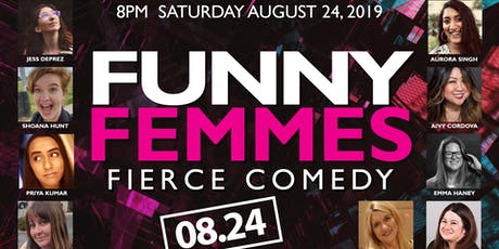 Funny Femmes: Fierce Comedy tickets