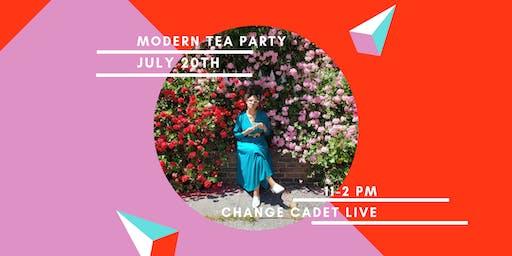 Change Cadet Modern Tea Party