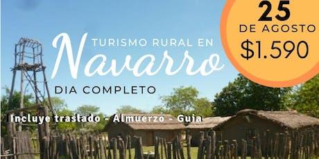 Navarro - Turismo Rural - Día Completo tickets