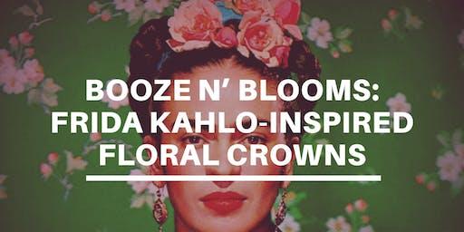Booze n' Blooms: DIY Frida-inspired Floral Crown