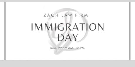 Immigration Day tickets
