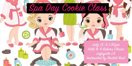 Spa Day Cookie Class tickets