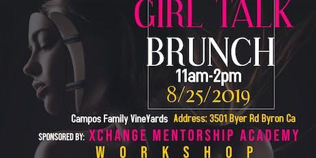 Girl Talk  workshop tickets