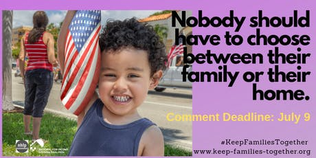 Keep Families Together Comment Party  tickets