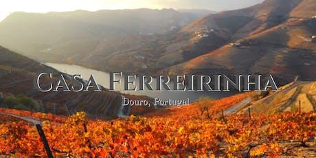 Portuguese Wine Tasting with Casa Ferreirinha tickets