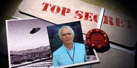 OVNI : DOSSIERS SECRETS RÉVÉLÉS Conférence avec Michael E. Salla, PhD, auteur et enquêteur international. tickets