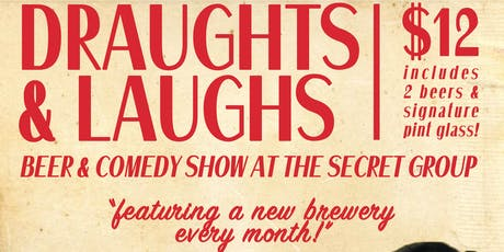 DRAUGHTS & LAUGHS: BEER & COMEDY SHOW! tickets