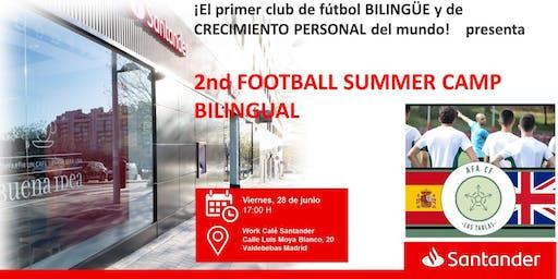 2nd FOOTBALL SUMMER CAMP BILINGUAL   de AFA Club las Tablas