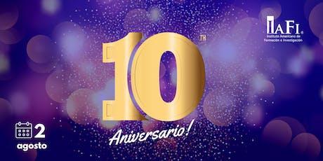 10 Años  No Son Nada -  IAFI Argentina biglietti