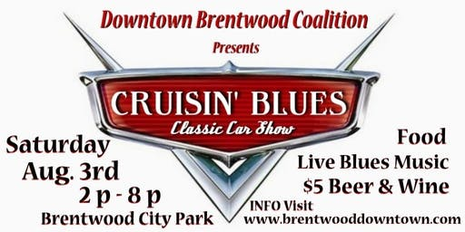 2019 Cruisin' Blues  - Car Show & Blues Concert