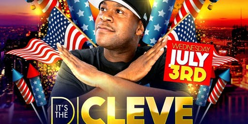 "**SPECIAL EVENT** Guest ""DJ CLEVE"" @ TJs NightLife - Wednesday, July 3rd! Celebrate July 4th!!!"