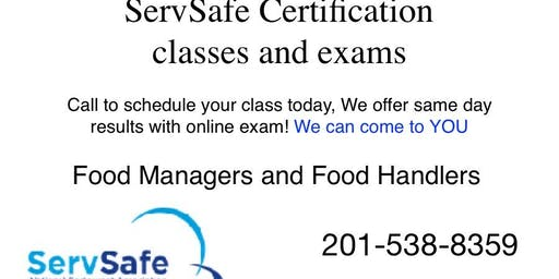 ServSafe Food Managers and Food Handler Class and Exam| Charlottesville VA