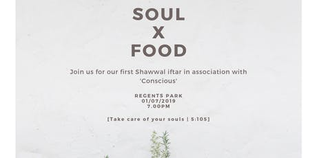 Soul X Food Iftar tickets