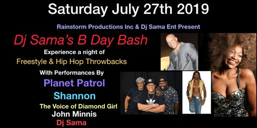 DJ SAMA'S B DAY BASH