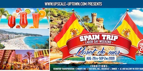 SPAIN TOUR - LABOR DAY WEEKEND tickets
