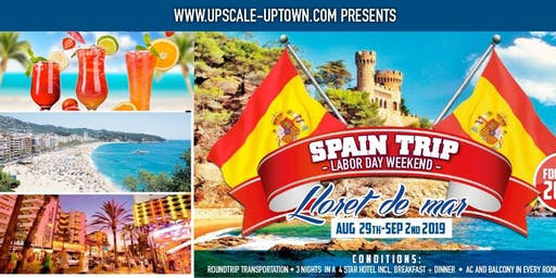SPAIN TOUR - LABOR DAY WEEKEND