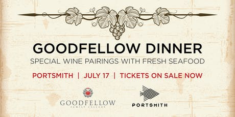 Goodfellow Wine Dinner tickets