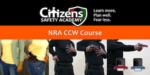 NRA Basic CCW Course (NY)