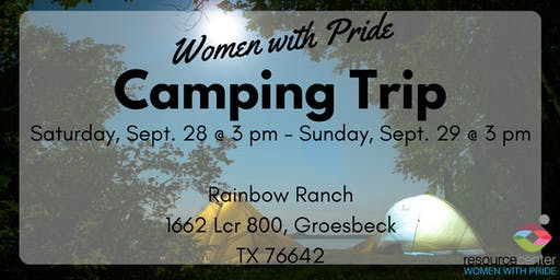 Women with Pride Camping Trip
