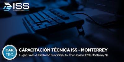 Capacitación Técnica ISS - 19 y 20 de Septiembre 2019 MTY MÉXICO