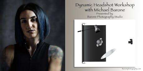 Dynamic Headshot Workshop tickets