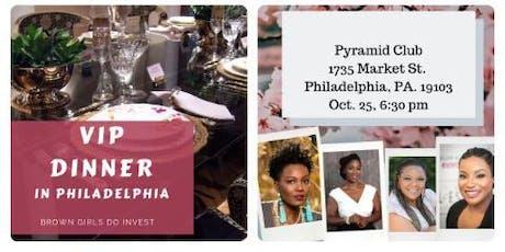 VIP Dinner with Brown Girls Do Invest Philadelphia tickets