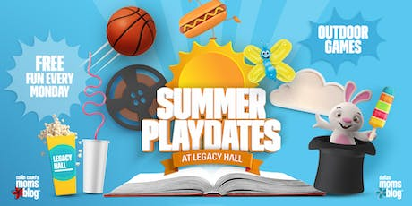 Summer Playdates | Free Kids DJ Dance Party at Legacy Hall tickets