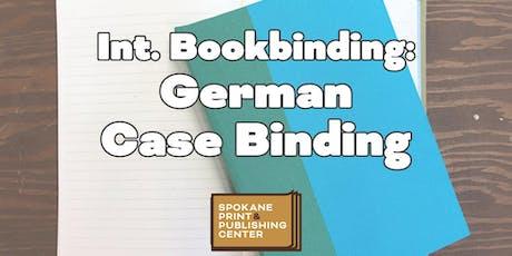 Int. Bookbinding: German Case Binding tickets