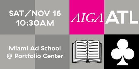 AIGA ATL Book Club - NOV 2019 tickets