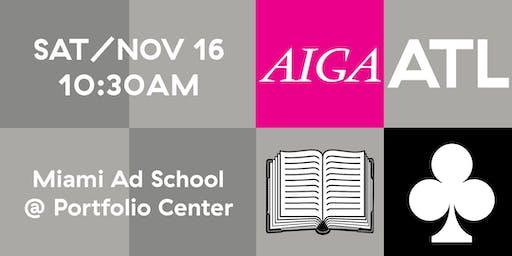 AIGA ATL Book Club - NOV 2019